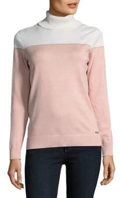 Calvin Klein Pullover Turtleneck Sweater