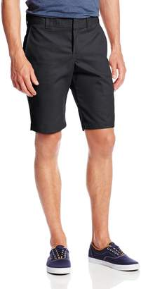 Dickies Men's 11 Inch Slim Fit Stretch Twill Work Short