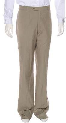 John Varvatos Flat Front Woven Pants