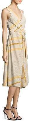 Derek Lam 10 Crosby Women's Wrap Silk Dress
