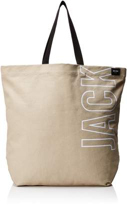 Jack Spade Men's Basic Canvas Tote