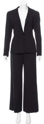 Chanel Wool Wide-Leg Pantsuit