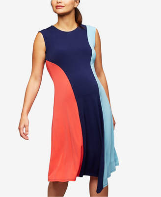 A Pea in the Pod Maternity Colorblocked Dress