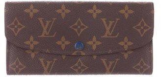 Louis Vuitton Monogram Emilie Wallet $425 thestylecure.com