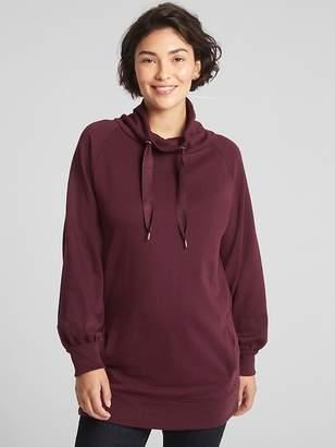 Gap Maternity Funnel-Neck Pullover Tunic Sweatshirt