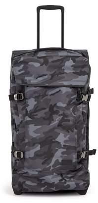 Eastpak Tranverz Large Camouflage Print Suitcase - Mens - Grey