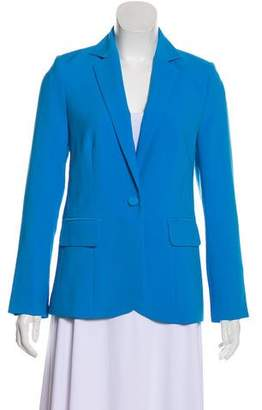 Frame Structured Long Sleeve Blazer