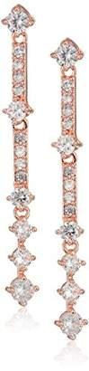 Anne Klein Linear Post Drop Earrings
