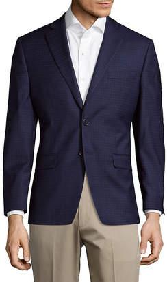 Calvin Klein Window Slim Fit Wool Jacket