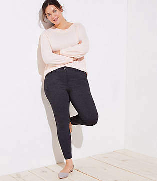 LOFT Plus Leggings in Zip Pocket