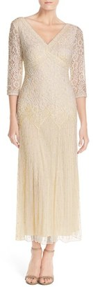 Women's Pisarro Nights Beaded Mesh Dress $189 thestylecure.com