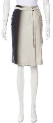 Dries Van Noten Ombré A-Line Skirt