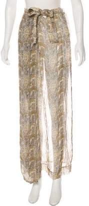 Dries Van Noten Silk Maxi Skirt w/ Tags