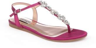 Badgley Mischka Sissi Crystal Embellished Sandal