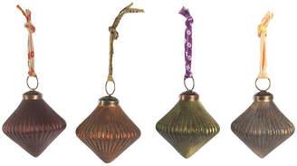 Nkuku Itari Vintage Baubles - Set of 4