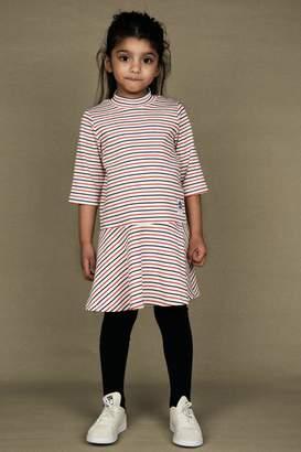 Mini Rodini Stripe Rib Dress