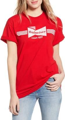 d6872b1d0 Junk Food Clothing Budweiser Lager Beer Tee