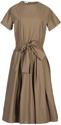 Brunello Cucinelli 3/4 length dresses