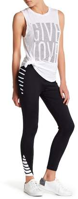 Betsey Johnson Contrast Leggings
