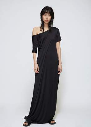 Ann Demeulemeester Long Jersey Tie Dress