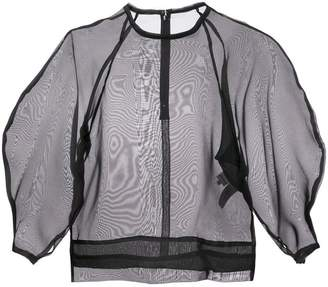 Enfold Organza raglan top