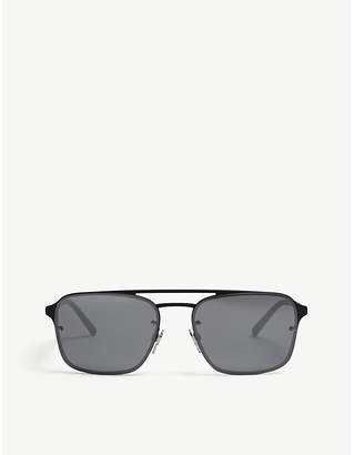 Burberry BE3095 square-frame sunglasses