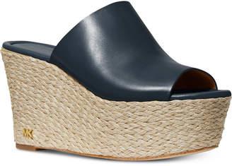 Michael Kors Cunningham Wedge Sandals