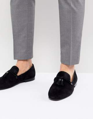 Aldo Mccrery dress loafers in black suede