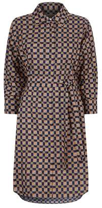 Burberry Tiled Archive Shirt Dress