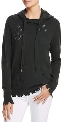Aqua Deconstructed Hooded Sweatshirt