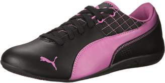 Puma Drift Cat 6 L Jr Athletic Shoe, Black/Meadow Mauve