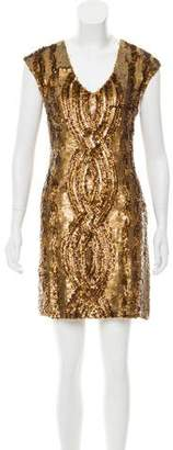 Tracy Reese Sequin Mini Dress