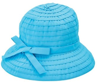 Co San Diego Hat Ribbon Braid Bucket Hat withAdjustable Tie