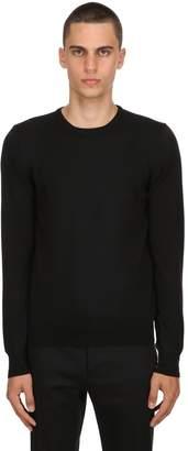 Tagliatore Crewneck Wool Knit Sweater