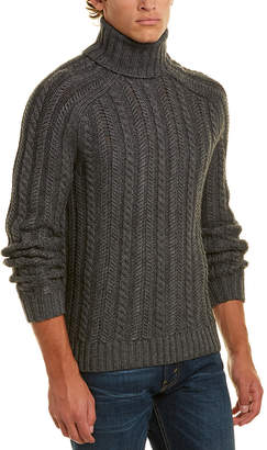 Vince Wool & Cashmere-Blend Turtleneck Sweater