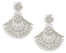 Dannijo Viburnum Crystal Earrings
