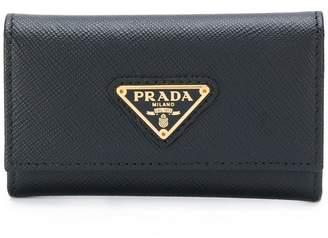 Prada key holder purse
