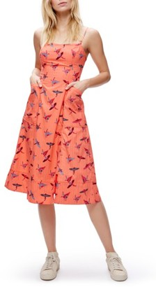Women's Free People Sunshine Of Your Love Cotton Midi Dress $128 thestylecure.com