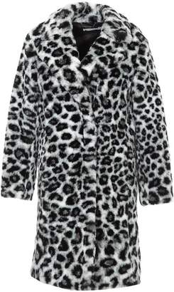 Alberta Ferretti Animalier Printed Faux Fur Coat
