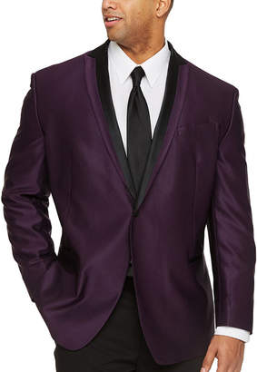 Jf J.Ferrar Classic Fit Stretch Tuxedo Jacket - Big and Tall