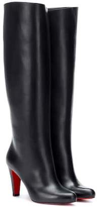 Christian Louboutin Marmara Botta 85 leather boots
