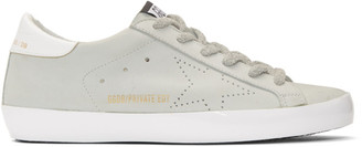 Golden Goose SSENSE Exclusive White Sunday Superstar Sneakers