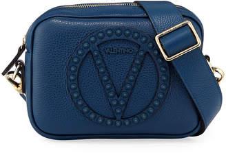 Mario Valentino Valentino By Mia Studded Dollaro Leather Crossbody Bag