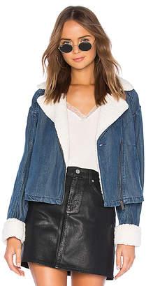 Splendid Sparrow Jacket With Faux Fur
