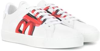 Burberry Westford MP leather sneakers
