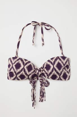 H&M Bandeau Bikini Top - Purple