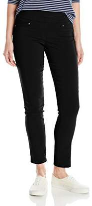 My Michelle Women's Pull On Millennium Pant With L Pockets and Grommet Details