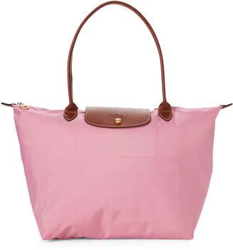 Longchamp Pink Le Pliage Neo Medium Tote