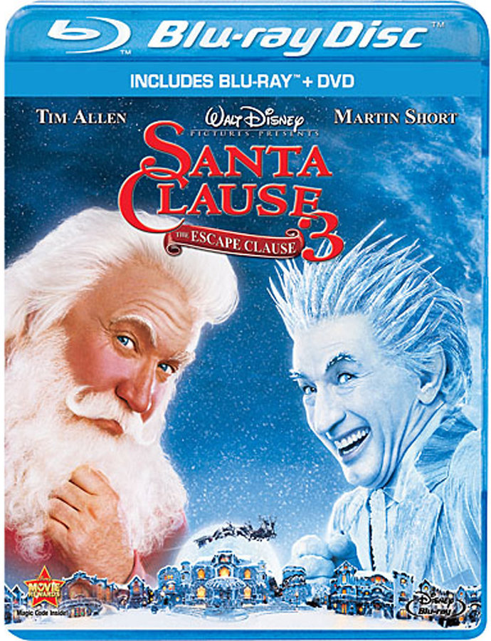 The Santa Clause 3: The Escape Clause - Blu-ray + DVD Combo Pack