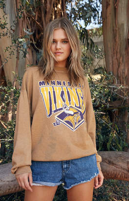 Retro Gold Vintage Vikings Sweatshirt